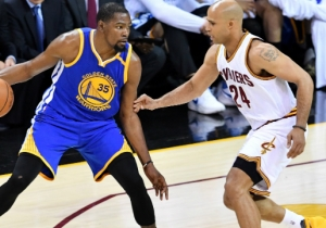 Richard Jefferson Broke Down Why The 2017 Finals Were Closer Than The Warriors' 4-1 Series Win Indicates