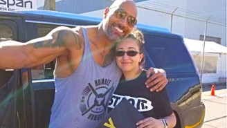 The Rock Takes A Labor Day Weekend Detour To Serenade Fans On The Side Of The Road