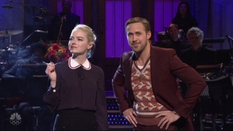 Ryan Gosling Ushers In 'SNL' Season 43 By Making Sure Everybody Knows That He Saved Jazz With Emma Stone