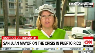 San Juan's Mayor Lashes Out After Homeland Security's Head Calls The Puerto Rico Response A 'Good News Story'