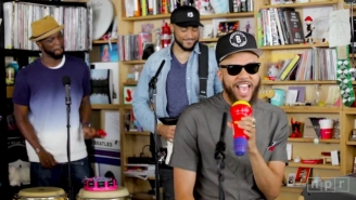 Jidenna Stripped Down His 'Classic Man' Persona For A Totally Casual, Soulful 'Tiny Desk' Concert