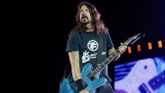 Foo Fighters Busted Out A Fiery Cover Of The Beatles' 'Come Together' With Liam Gallagher And Joe Perry