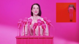 St. Vincent Announced The Arrival Of Her New Album With The Electronic Single 'Los Ageless'