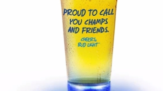 Bud Light's New Beer Glasses Are A Built In Drinking Game