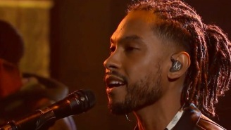 Miguel's Late Night Performance Of 'Come Through And Chill' Is Baby-Making Music At Its Finest