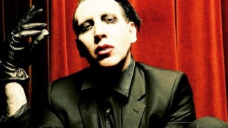 Marilyn Manson Pretended To Carry Out A Mass Shooting On Stage In San Bernardino This Weekend