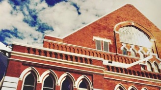 Nashville's Most Iconic Music Venue, The Ryman Auditorium, Took Down Its 'Confederate Gallery' Sign