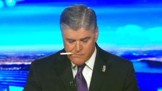 Watch Sean Hannity Vape And Scratch Himself In Strangely Captivating Leaked Footage Of A Segment Break