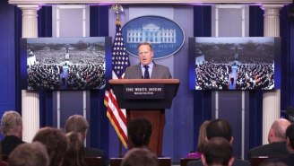 Sean Spicer Says He 'Absolutely' Regrets Slamming Accurate Reports Of Trump's Inauguration 'Crowd Size'