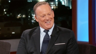 Sean Spicer Tries To Dance His Way Around Jimmy Kimmel's Questions About His Former Boss