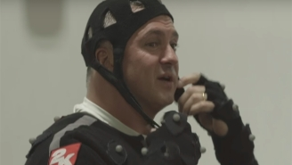 Watch Shane McMahon Strap On A Motion Capture Suit To Play Himself In 'WWE 2K18'