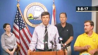 An On-Air Interpreter Has Been Accused Of Signing Gibberish During Hurricane Irma