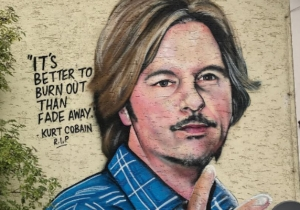 Everyone Is Sending David Spade Pictures Of A Mural Featuring Him, Probably Because It's One Of The Greatest Things Ever