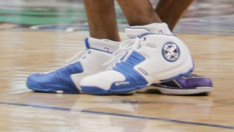 Latrell Sprewell Gave Us A First Look At The Retro Dada Spinner Shoe And A Release Date