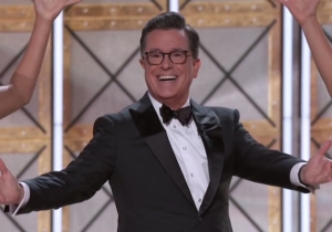 Stephen Colbert Justified Sean Spicer's Emmy Appearance In The Name Of Comedy