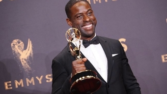 Sterling K. Brown Finished His Excellent Emmys Speech Backstage After Being Cut Off