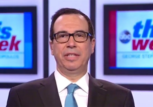 Steven Mnuchin Slams NFL Players Who Take A Knee: 'They Can Do Free Speech On Their Own Time'