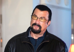 Steven Seagal Walked Out Of An Interview When Pressed About Sexual Assault Allegations
