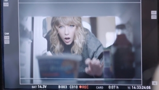 Watch Taylor Swift Get Goofy And Snack On Cookie Dough In Her AT&T Commercial