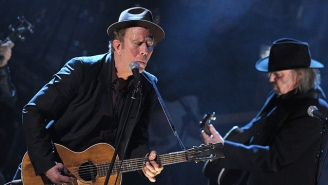 Tom Waits Makes A Rare Public Appearance To Back Up Mavis Staples With His Signature Growl