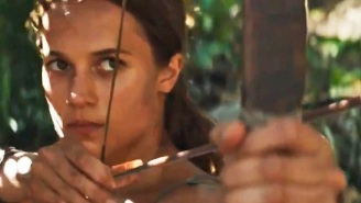 The First 'Tomb Raider' Teaser Features Alicia Vikander Cheating Death