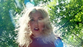 Torres Take A Terrifying Trip Through The Forest In Her 'Helen In The Woods' Video
