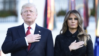 President Trump Stuck To The Script While Delivering A Somber Speech On 9/11's 16th Anniverary