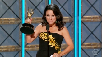 Julia Louis-Dreyfus Sets An Emmy Record With Her Sixth Consecutive Win For 'Veep'