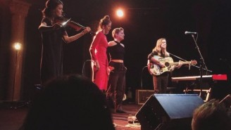 Half Waif And Petal Joined Julien Baker On Stage For A Haunting Live Rendition Of 'Good News' In New York