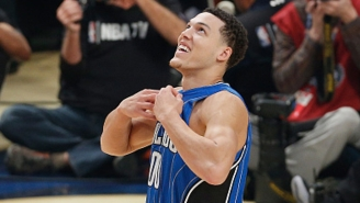 Aaron Gordon Hammered Home An Alley-Oop Pass To Himself Off The Backboard
