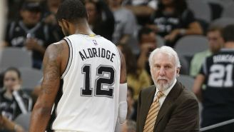 LaMarcus Aldridge And The Spurs Have Reportedly Agreed To A Contract Extension