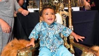 Asahd Khaled Got A Lamborghini At His 'Just Dance 2018'-Sponsored First Birthday Party