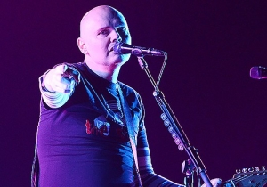 Renowned Miley Cyrus Fan Billy Corgan Performed A Subdued Acoustic Cover Of 'Wrecking Ball'