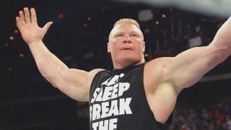 Brock Lesnar Once Suplexed A Kansas City Chiefs Player During An NFL Preseason Game