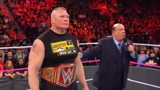 WWE Raw Got A Big Ratings Boost Thanks To TLC And The Return Of Brock Lesnar