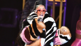 Cardi B Dressed The Stage As A Bronx Bodega For Her BET Hip-Hop Awards Performance Of 'Bodak Yellow'