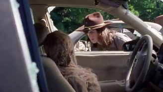 'The Walking Dead' Showed Off A Clip At New York Comic-Con Putting Carl In A Familiar Situation