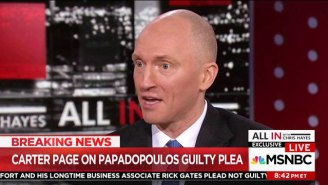 Carter Page Admits That He 'May Have' Discussed Russia With George Papadopoulos