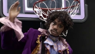 Blake Griffin Compared His Pose On The Rim To Dave Chappelle's Famous Prince Sketch