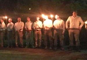Charlottesville's Mayor Slams The 'Despicable Visit' By White Supremacists/Nazis After Another Torch-Lit Rally