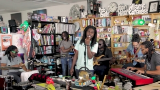 Chronixx Brings Island Vibes To The NPR Office For A Laid-Back Tiny Desk Concert