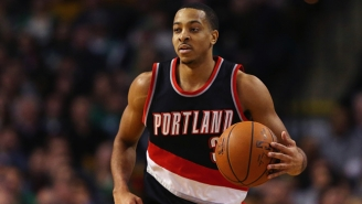 C.J. McCollum Announced He's Signing With Chinese Shoe Company Li-Ning