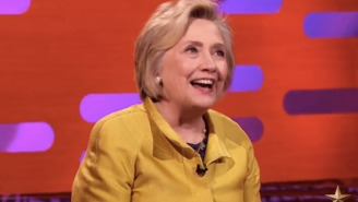 Hillary Clinton Admits To Graham Norton That She Tried To Get Out Of Going To Trump's Inauguration