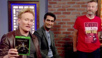 Conan Can't Get Over Kumail Nanjiani's Horrible 'Shadow Of War' Voice Acting On The Latest 'Clueless Gamer'