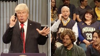 Alec Baldwin Tries To Boss Mike Pence Around On 'SNL,' But Truth Is Stranger Than Fiction