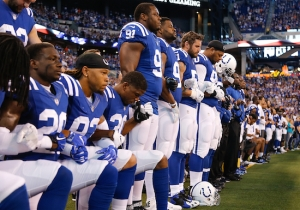 Vice President Mike Pence Left The Colts Game After The National Anthem Due To Protests