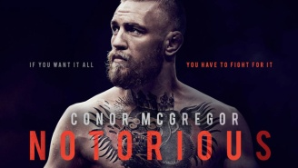 We've Reached Peak Conor McGregor As His Documentary 'Notorious' Hits Theaters In November
