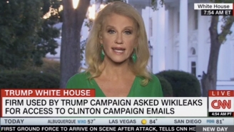Kellyanne Conway Swears She'll Never Bring Up Hillary Clinton Again As She Continues Babbling About Hillary Clinton