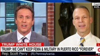 Watch A Furious Chris Cuomo Unload On A Republican Lawmaker Who Claims People Aren't Dying In Puerto Rico