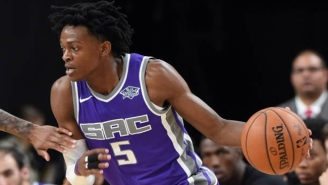 De'Aaron Fox Has A Flame-Broiled Take On California's Beloved In-And-Out Burger